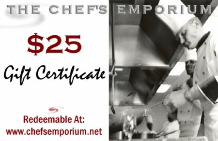 $25 Electronic Gift Certificate