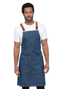 BERKELEY Blue Denim Bib Apron