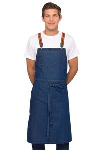 BERKELEY Blue Denim Chef's Bib Apron