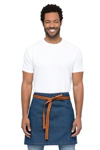 BERKELEY Blue Denim Half Bistro Apron