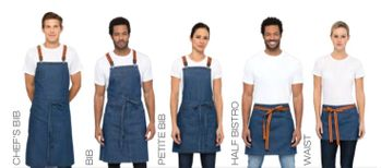 Berkeley Blue Denim Urban Apron Collection