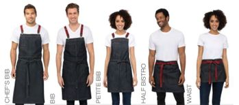 Berkeley Indigo Blue Denim Urban Apron Collection