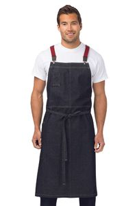 BERKELEY Indigo Denim Chef's Bib Apron