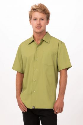 GENOVA Cafe Shirt - Lime Green