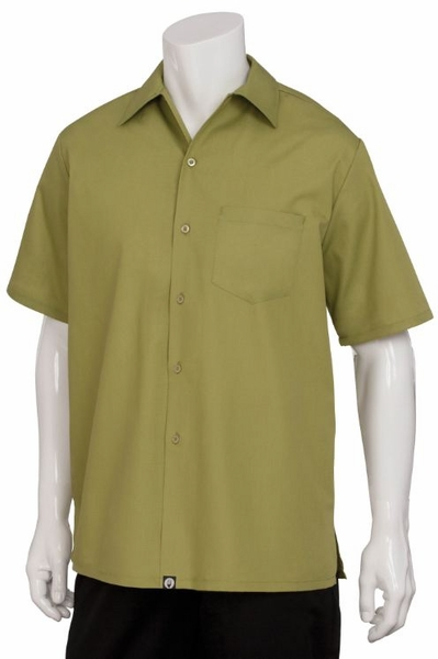 GENOA Cafe Shirt - Lime Green