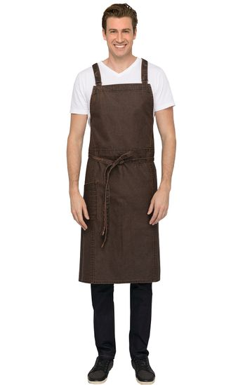 Denver Urban Canvas Chefs Bib Apron