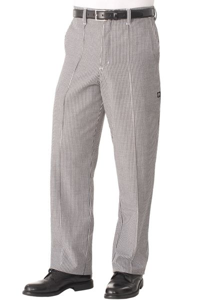 Chef's Uniform - Kitchen Chef Pants - Small Check