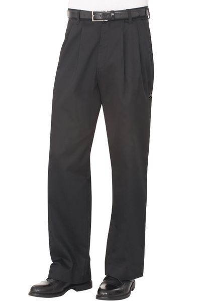 Chefs Uniform - Kitchen Chef Pants - Black