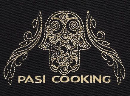 PASI COOKING Logo Embroidered on the Product Of Your Choice