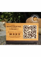 Tabletop QR Code Scan for MENU