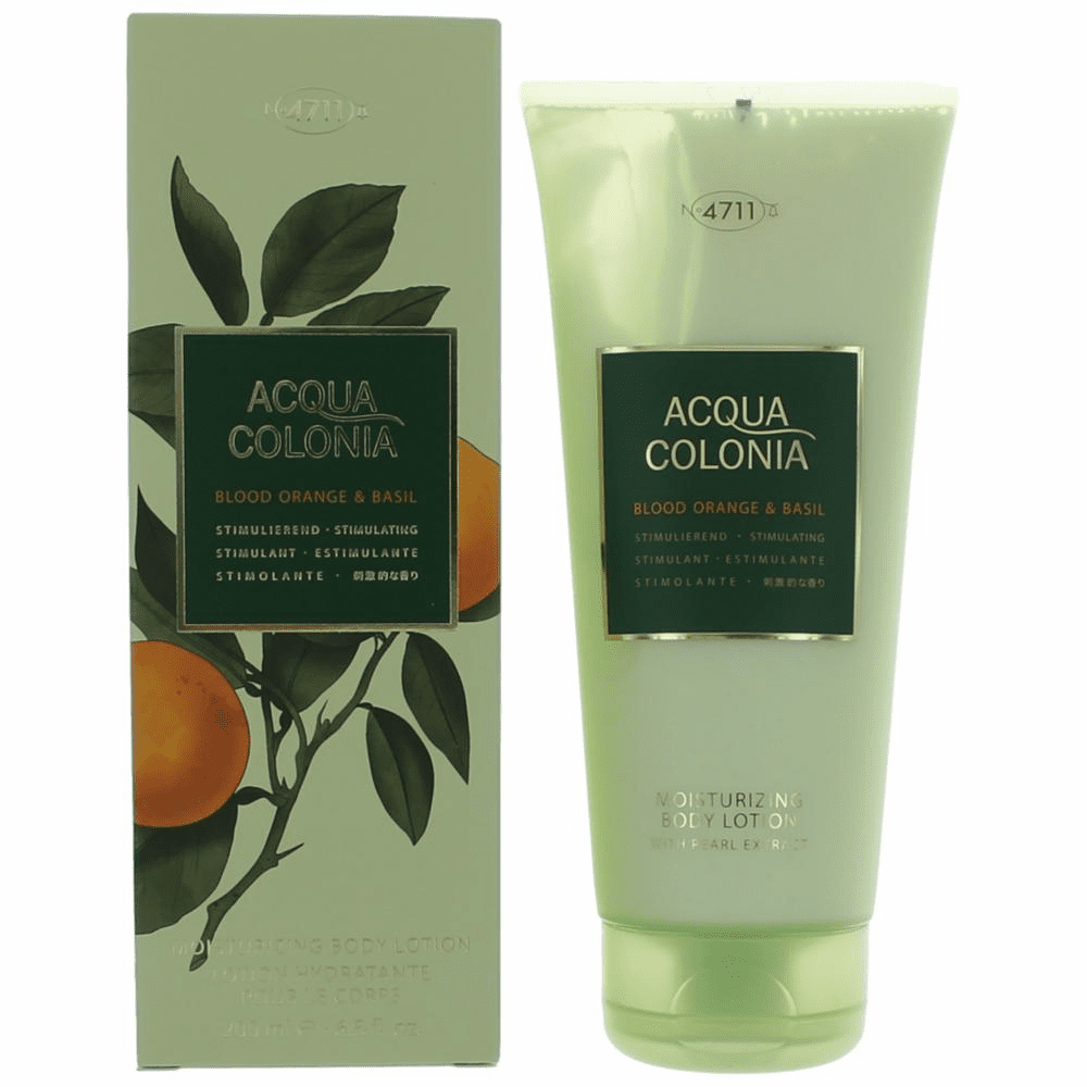Acqua Colonia Blood Orange & Basil by 4711, 6.8 oz Body Lotion for Unisex