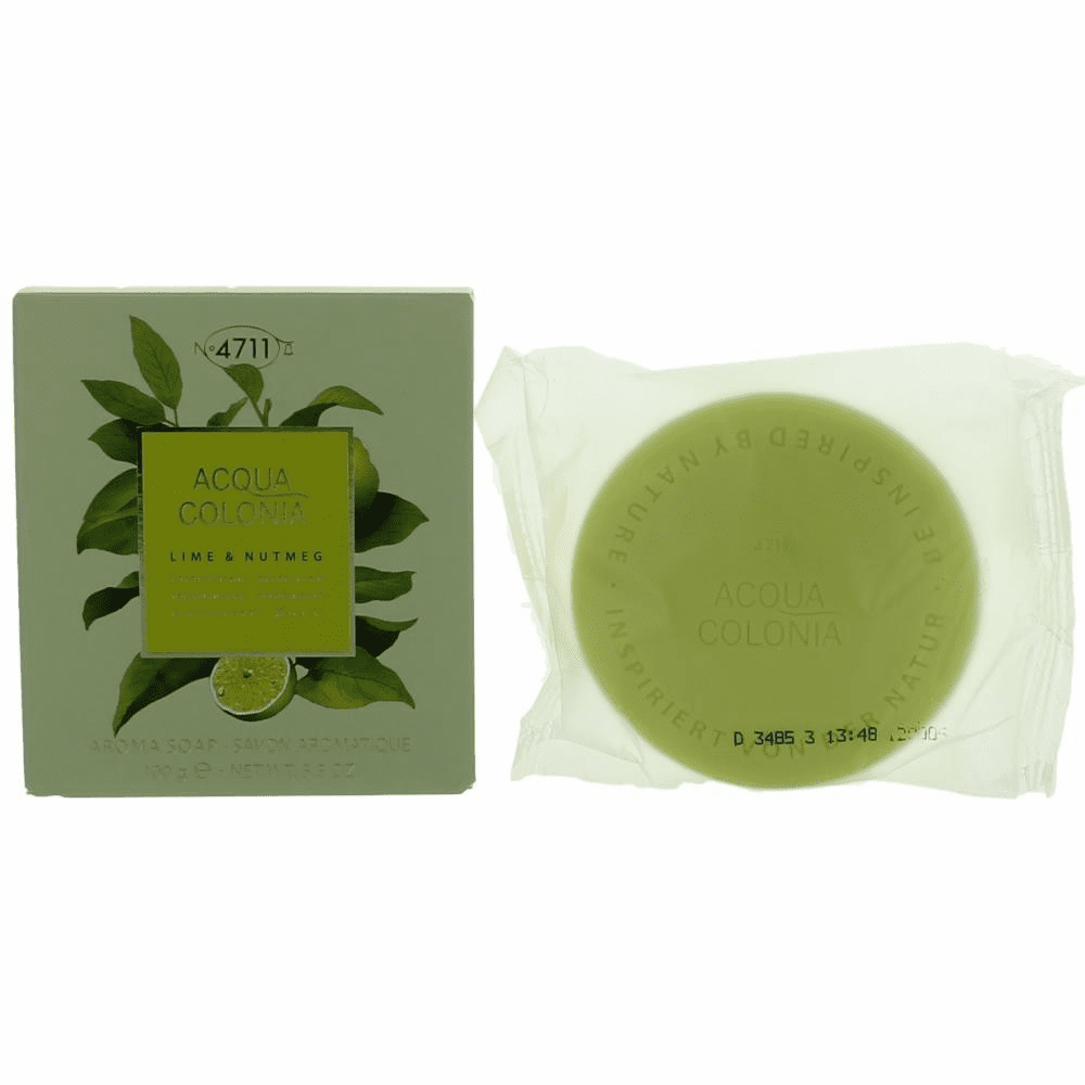 Acqua Colonia Lime & Nutmeg by 4711, 3.5 oz Soap for Unisex