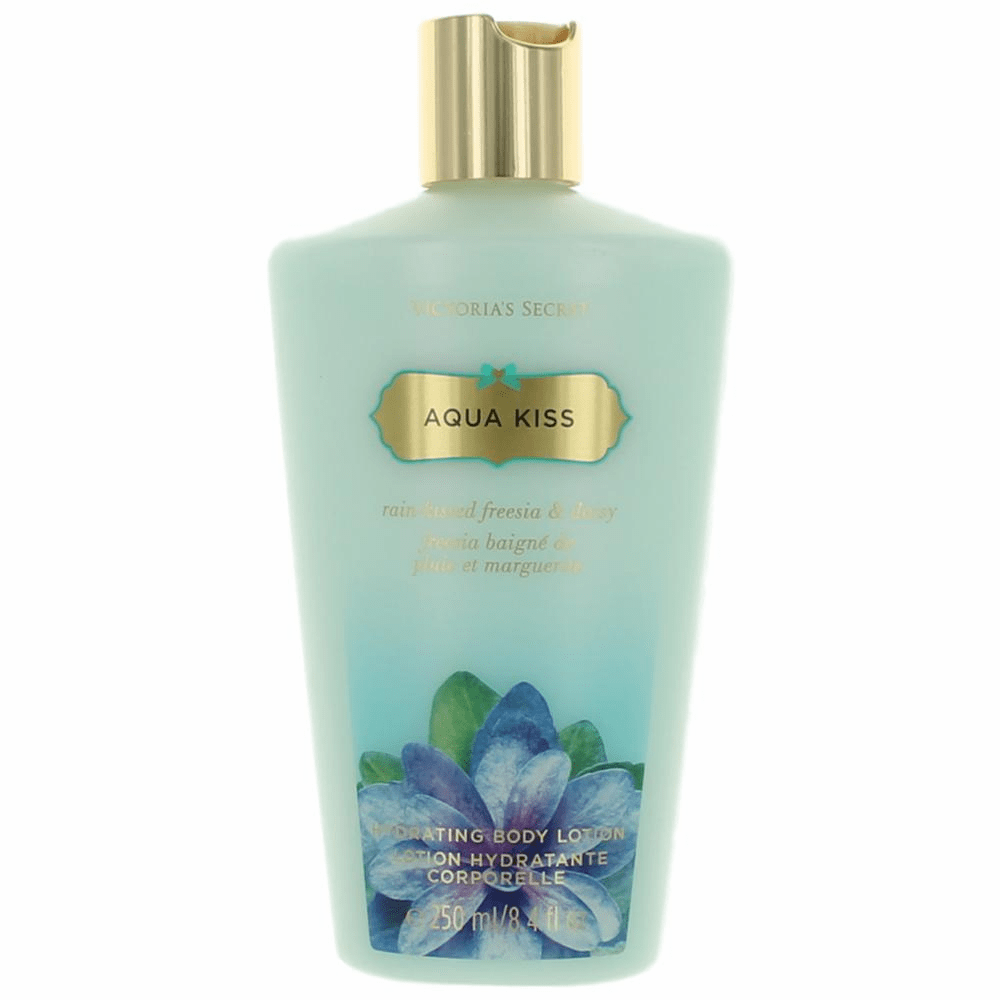 Aqua Kiss by Victoria's Secret, 8.4 oz Hydrating Body Lotion for Women