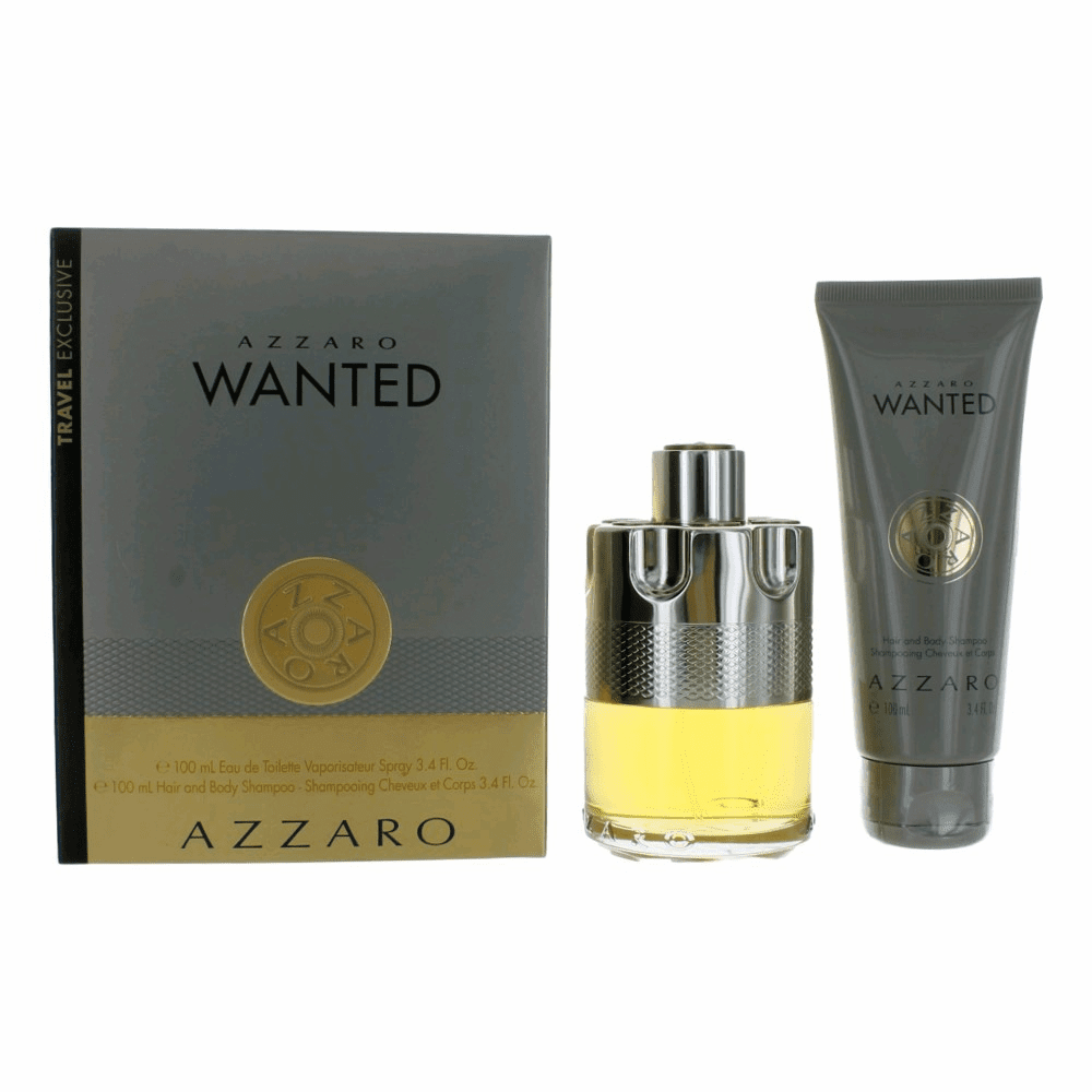 Azzaro Wanted by Azzaro, 2 Piece Gift Set for Men