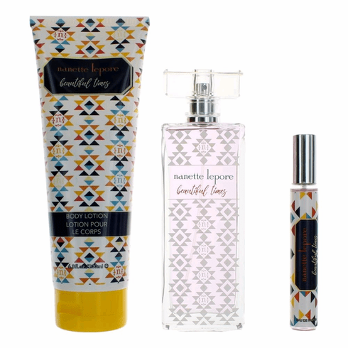 Beautiful Times by Nanette Lepore, 3 Piece Gift Set for for Women