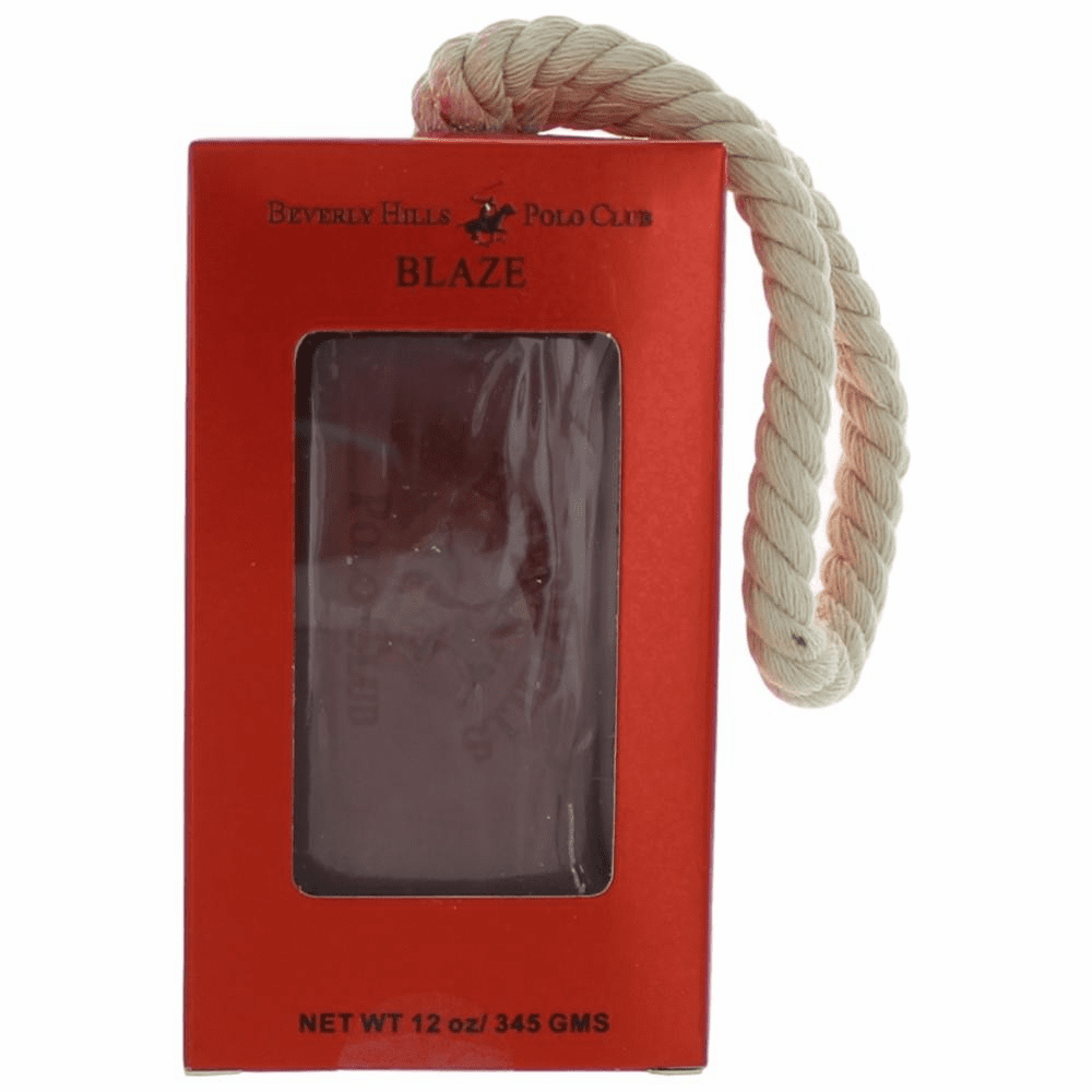 BHPC Blaze by Beverly Hills Polo Club, 12 oz Soap on a Rope for Men