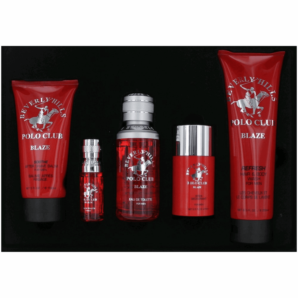 BHPC Blaze by Beverly Hills Polo Club, 5 Piece Gift Set for Men