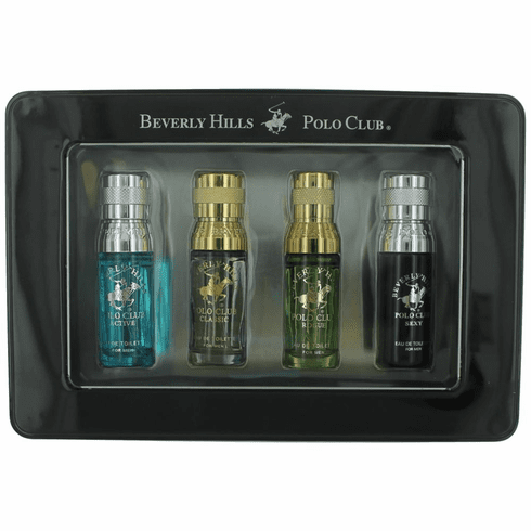BHPC  Collection by Beverly Hills Polo Club, 4 Piece Mini Set for Men (ACRS)