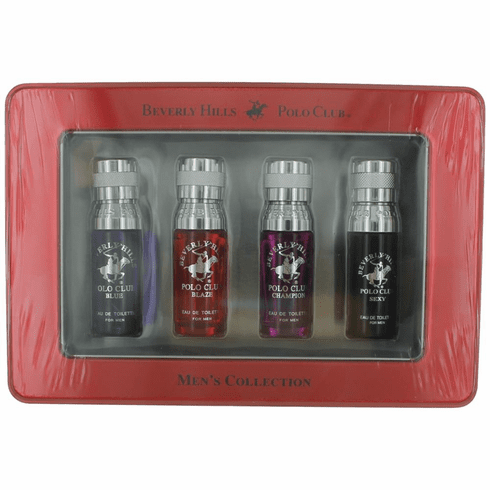 BHPC  Collection by Beverly Hills Polo Club, 4 Piece Mini Set for Men (BBCS)