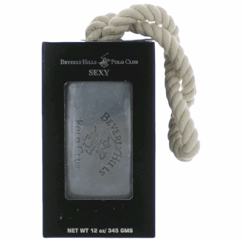 BHPC Sexy by Beverly Hills Polo Club, 12 oz Soap on a Rope for Men