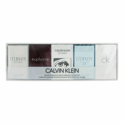 Calvin Klein by Calvin Klein, 5 Piece Deluxe Fragrance Travel Collection for Women