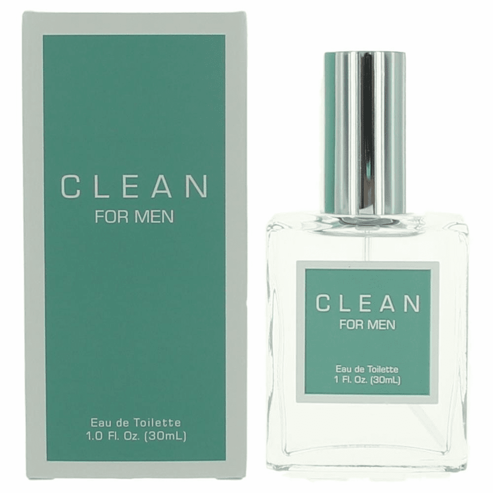 Clean For Men by Dlish, 1 oz Eau De Toilette Spray for Men