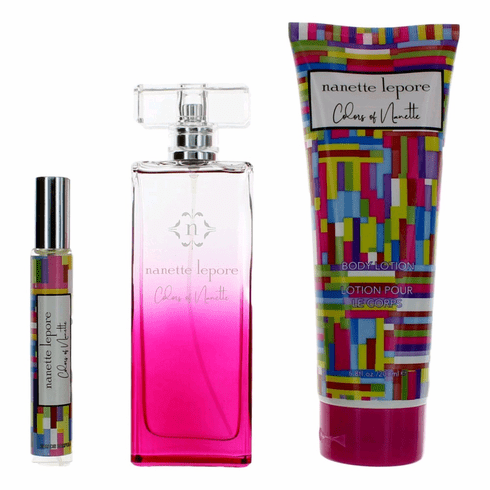 Colors of Nanettte by Nanette Lepore, 3 Piece Gift Set for Women