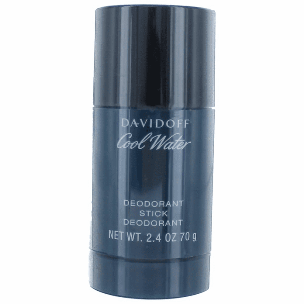 Cool Water by Davidoff, 2.4 oz Deodorant Stick for Men