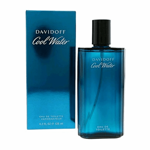 Cool Water by Davidoff, 4.2 oz Eau De Toilette Spray for Men