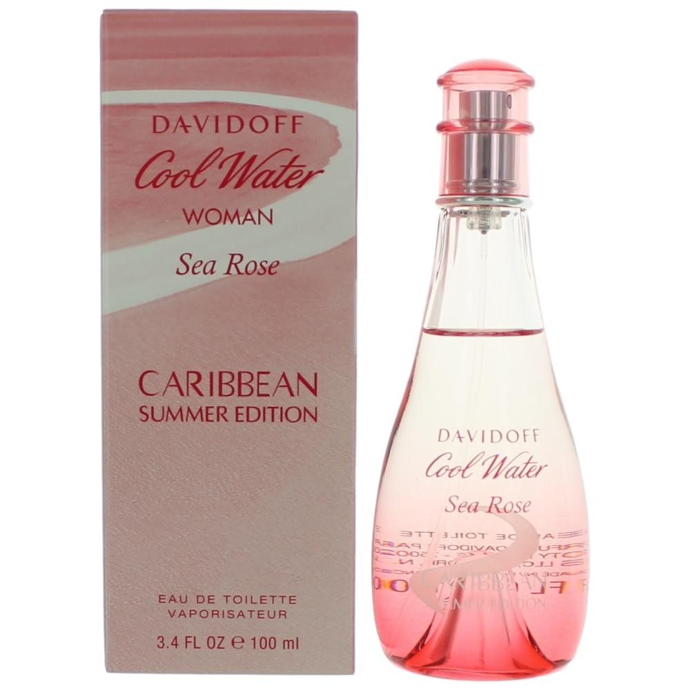 280d99a22bac Davidoff Cool Water Woman Sea Rose Caribbean Summer Edition was launched in  2018. Hover over image to zoom