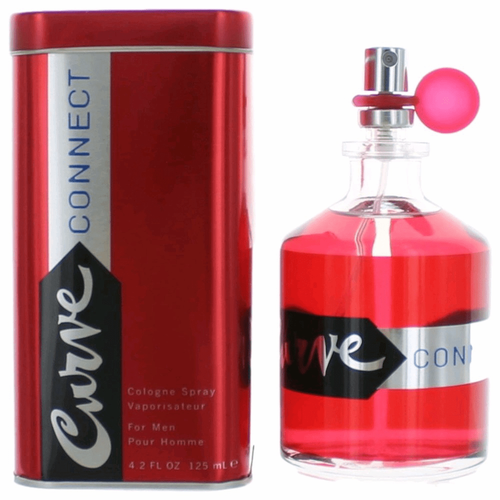 Curve Connect by Liz Claiborne, 4.2 oz Cologne Spray for Men