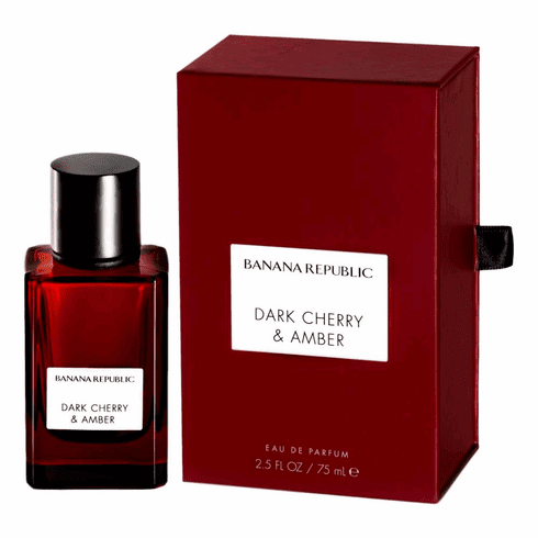 Dark Cherry & Amber by Banana Republic, 2.5 oz Eau De Parfum Spray for Unisex