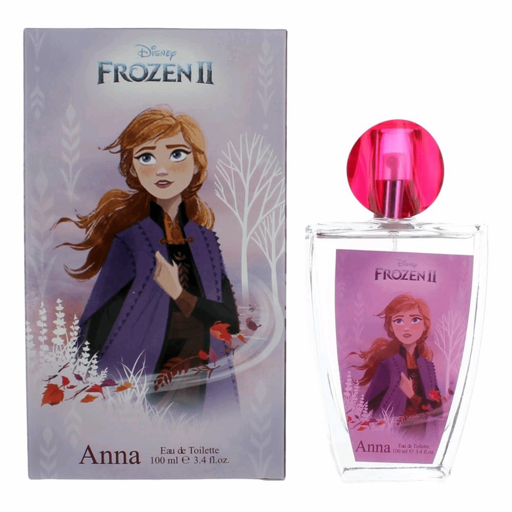 Disney Frozen II Anna by Disney, 3.4 oz Eau De Toilette Spray for Girls