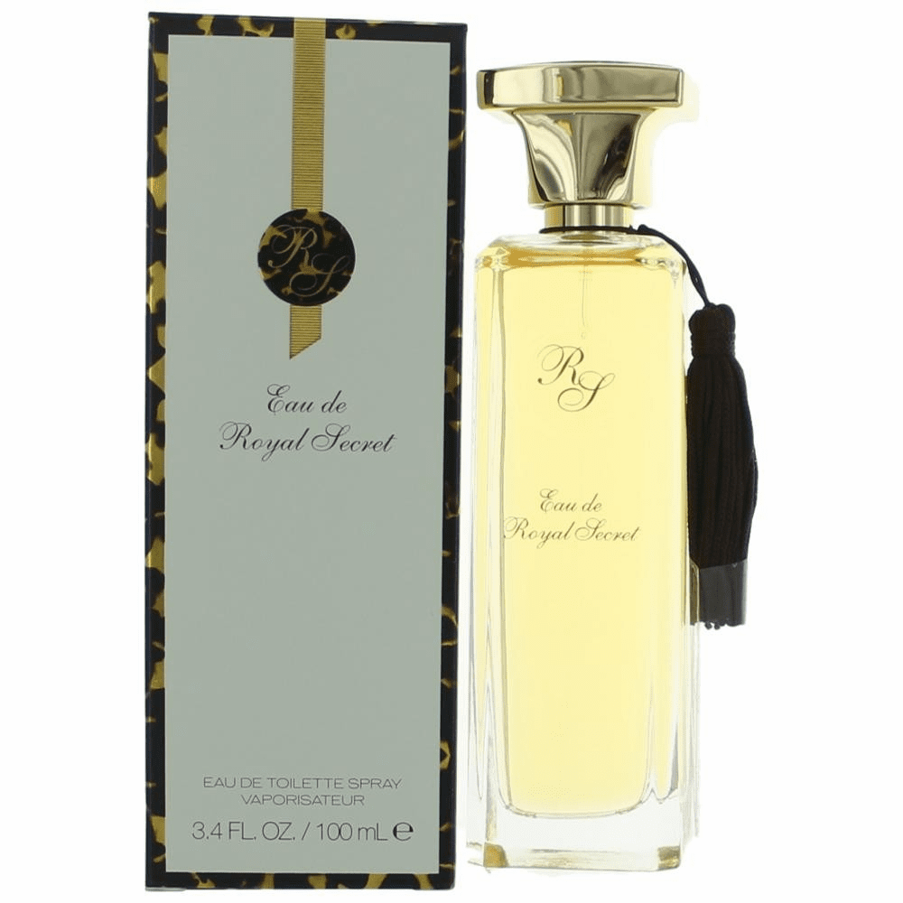 Eau De Royal Secret by Five Star Fragrances, 3.4 oz Eau De Toilette Spray for Women