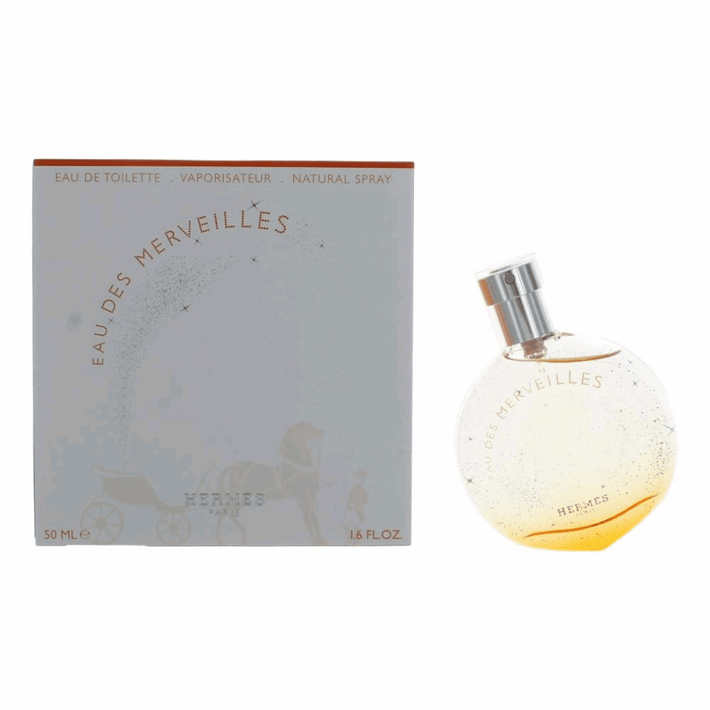 Eau des Merveilles by Hermes, 1.6 oz Eau De Toilette Spray for Women