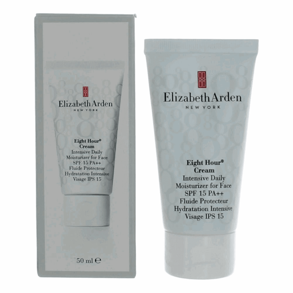 Elizabeth Arden Eight Hour Cream by Elizabeth Arden, 1.7 oz Intensive Daily Moisturizer SPF 15 for Women