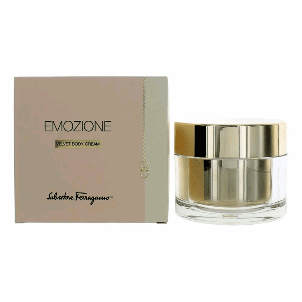 Emozione by Salvatore Ferragamo, 5.4 oz Velvet Body Cream for Women