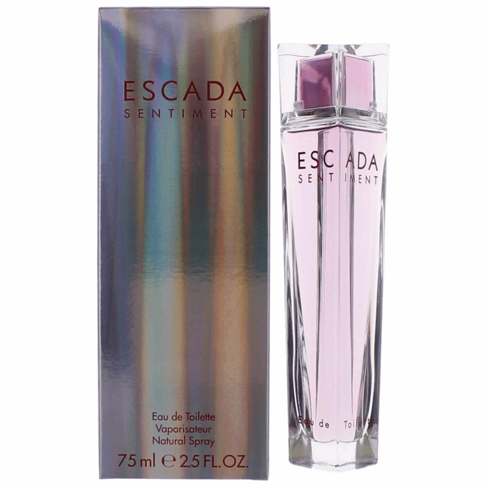 Escada Sentiment by Escada, 2.5 oz Eau De Toilette Spray for Women