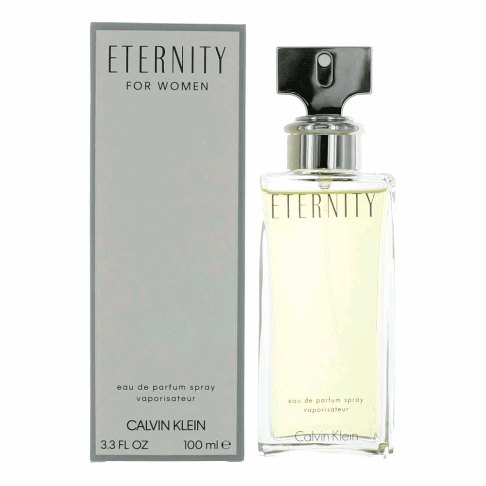 Eternity by Calvin Klein, 3.3 oz Eau De Parfum Spray for Women