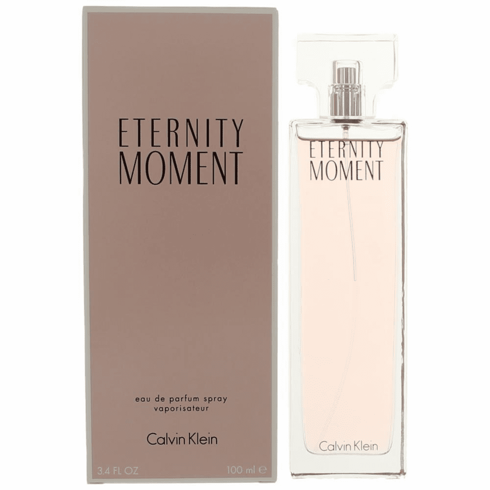 Eternity Moment by Calvin Klein, 3.4 oz Eau De Parfum Spray for Women