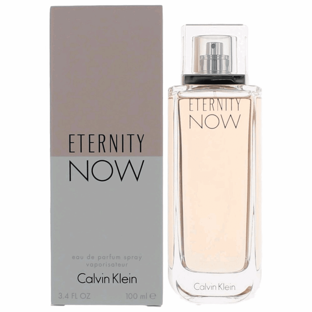 Eternity Now by Calvin Klein, 3.4 oz Eau De Parfum Spray for Women