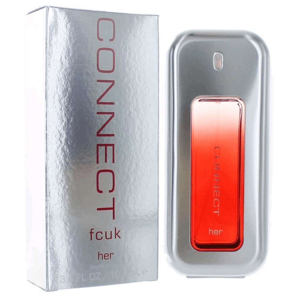 FCUK Connect by French Connection, 3.4 oz Eau De Toilette Spray for Women
