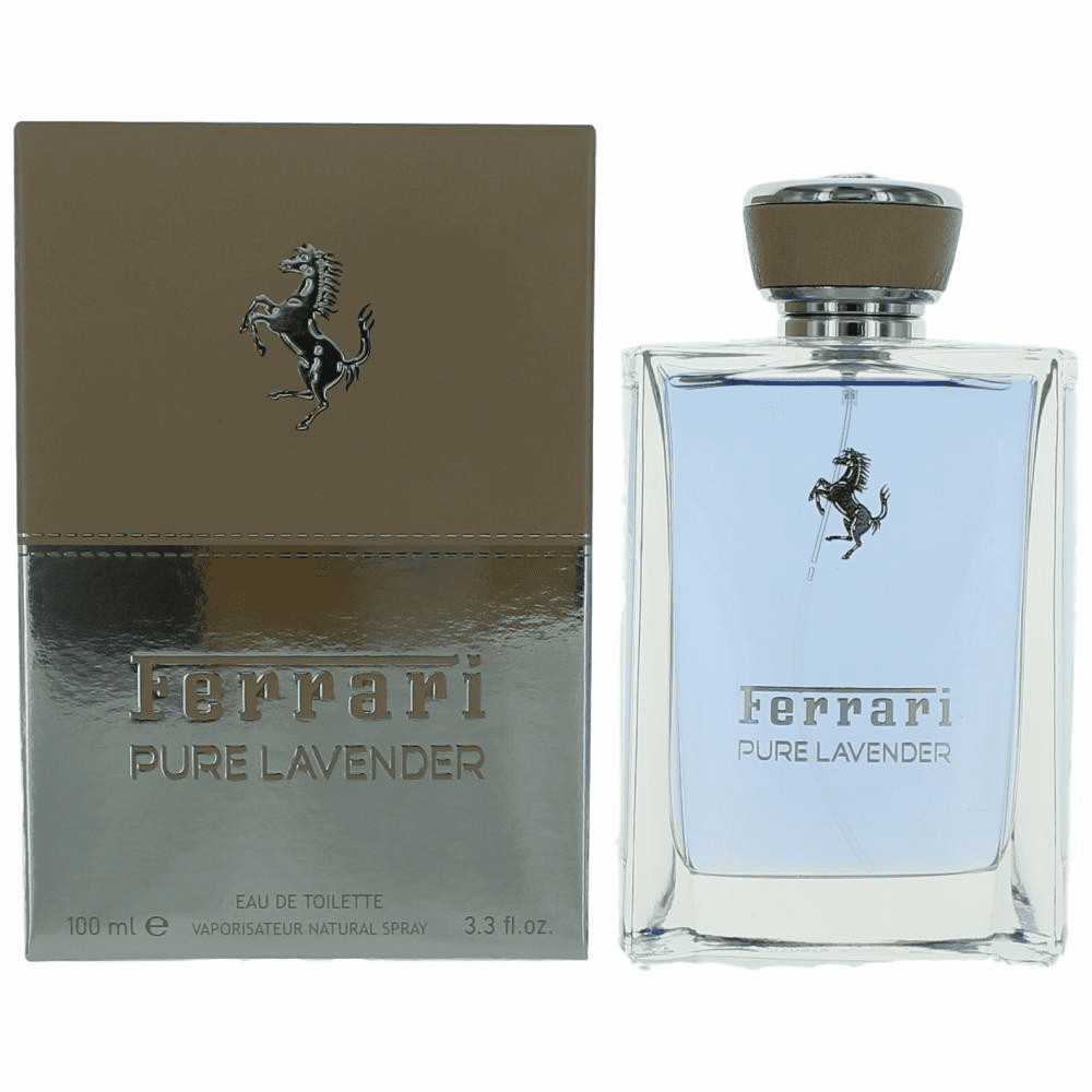Ferrari Pure Lavender by Ferrari, 3.3 oz Eau De Toilette Spray for Unisex
