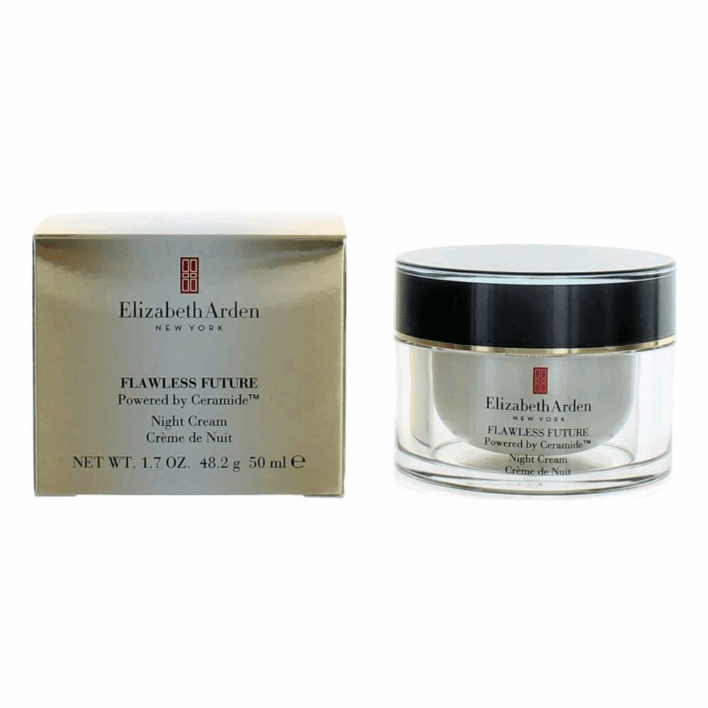 Flawless Future Powered Ceramide by Elizabeth Arden, 1.7 oz Night Cream for Women