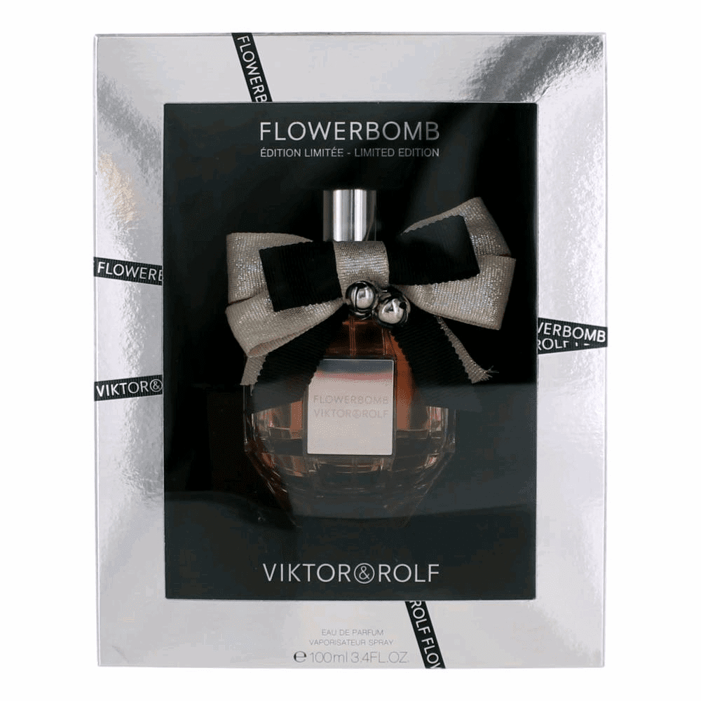 Flowerbomb Limited Edition by Viktor & Rolf, 3.4 oz Eau De Parfum Spray for Women