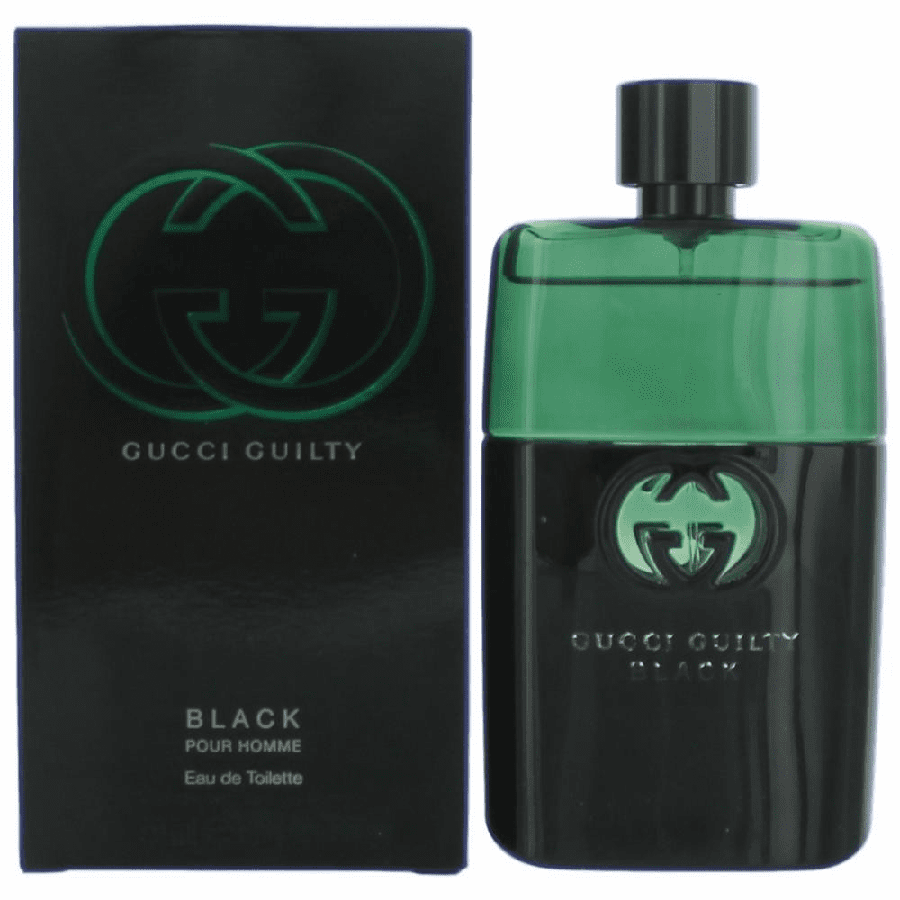 Gucci Guilty Black by Gucci, 3 oz Eau De Toilette Spray for Men