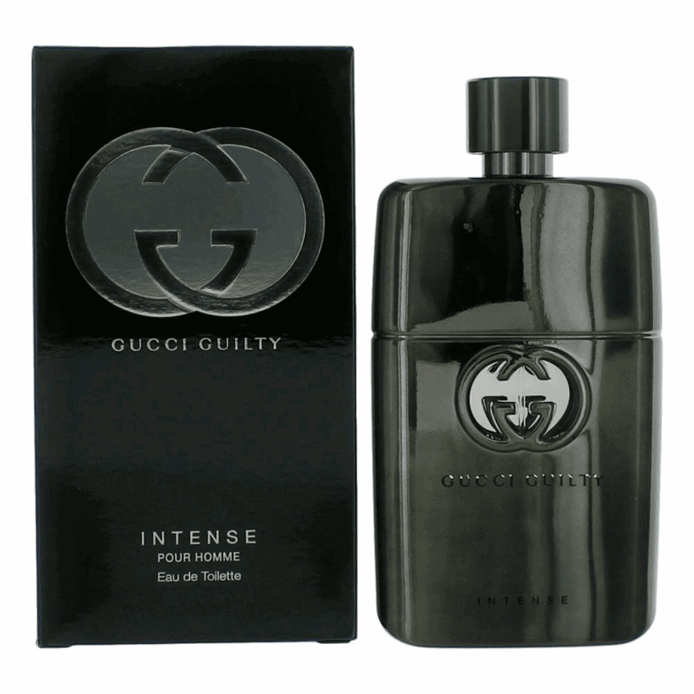 Gucci Guilty Intense by Gucci, 3 oz Eau De Toilette Spray for Men