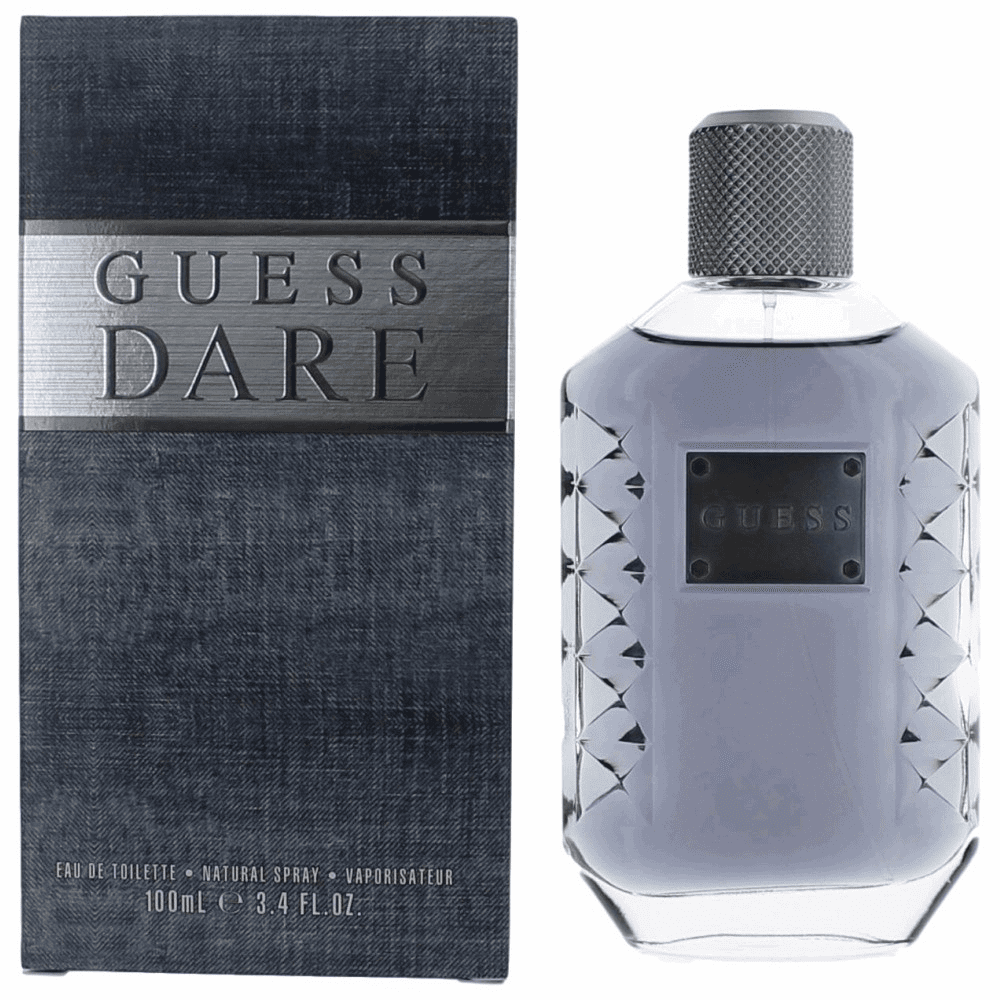 Guess Dare by Guess, 3.4 oz Eau De Toilette Spray for Men