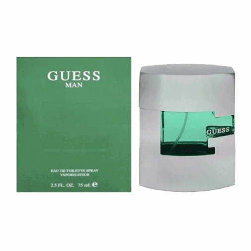 Guess Man by Parlux, 2.5 oz Eau De Toilette Spray for Men