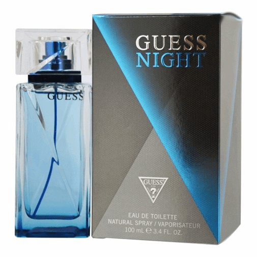 Guess Night by Guess, 3.4 oz Eau De Toilette Spray for Men